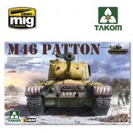 1/35 US  MEDIUM  TANK M-46  PATTON