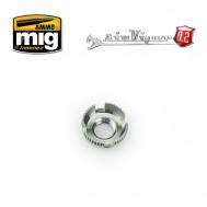Airviper nozzle cap guard (4 slotted aircap nozzle guard reversible)