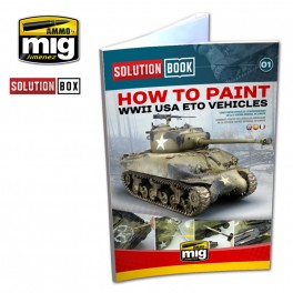 WW II AMERICAN ETO SOLUTION BOOK (Multilingual) - AMMO by Mig Jimenez
