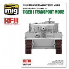 1/35 Tiger I  Transport Workable Track Links