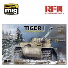 1/35 Tiger Early Production W/ Full Interior & Clear Parts & Workable Track Links