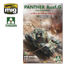 1/35  WWII German medium Tank   Panther Ausf.G late production w/ IR &Air Defense Armour