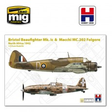 1/72 Beaufighter Mk. Ic & Macchi 202