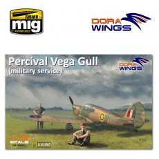 1/72 Percival Vega Gull (military service)