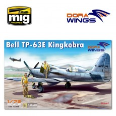1/72 Bell TP-63E Kingcobra (Two seat)