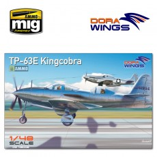 1/48 Bell TP-63E Kingcobra (Two seat)