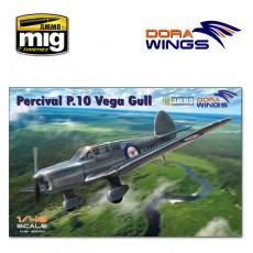 1/48 Percival P.10 Vega Gull (military service)