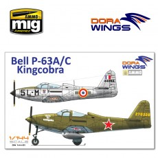 1/144 Bell P-63A/C Kingcobra (2 in 1)