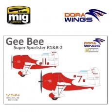 1/144 Gee Bee Super Sportster R1&R-2 (2 in 1)