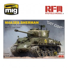 1/35 SHERMAN M4A3E8  W/ WORKABLE TRACK LINKS