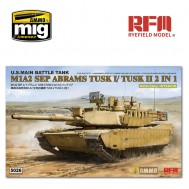 1/35 M1A2 TUSK I/ TUSK II WITH FULL INTERIOR