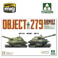 1/72 Object 279+Object 279M+NBC Soldier