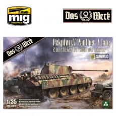 1/35 Pzkpfwg. V Panther A late 2 in 1 (Sd.Kfz.171/268)