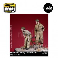 1/35 British 8th Army soldiers, 1943-45