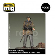 1/35 Home Army Rifleman w/kar 98, 1944