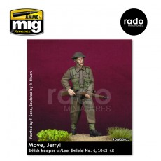 1/35 British trooper w/Lee-Enfield No. 4, 1943-45