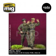 1/35 British trooper w/W-SS tanker POW, 1944-45