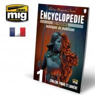 ENCYCLOPEDIA OF FIGURES MODELLING TECHNIQUES VOL. 1 - COULEUR, FORME ET LUMIÈRE (French)