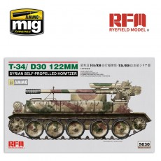 1/35 T-34/D-30 122 MM SYRIAN SELF-PROPELLED HOWITZER