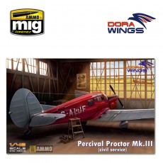 1/48 Percival Proctor Mk.III (civil registration)