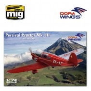 1/72 Percival Proctor Mk.III (civil registration)