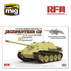 1/35  JAGDPANTHER G2  W/ WORKABLE TRACK LINKS