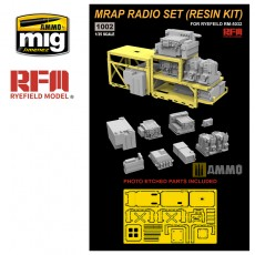 1/35 MRAP RADIO SET (RESIN KIT)