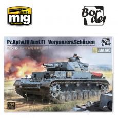 Pz.Kpfw.IV Ausf.F1 (F1 .VORPANZER. SCHURZEN) 3 in 1