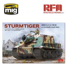 1/35 STURMTIGER W/ WORKABLE TRACK LINKS