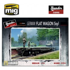 1/35 German Ssyl Flat Wagon
