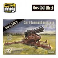 1/35 2cm Salvenmaschinenkanone - SMK Typ 2