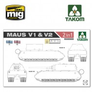 1/35 WWII  Maus V1 & V2  2 in 1 (Limited Edition)