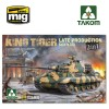 1/35 WWII German Heavy Tank Sd.Kfz.182 King Tiger  Late Production 2 in 1 (without interior)