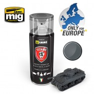 TITANS HOBBY: PANZERGRAU MATT PRIMER (German dark grey)