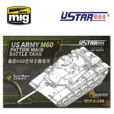 1/144  US ARMY M60 BATTLE TANK