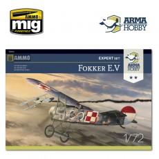 1/72 Fokker E.V Expert Set