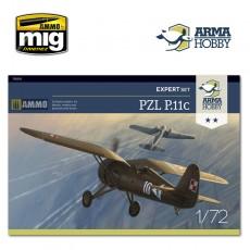 1/72 PZL P.11c Expert Set