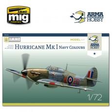 1/72 Hurricane Mk I Navy Colours Model Kit