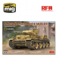 1/35  PZ.KPFW.VI AUSF.B(VK36.01) W/ WORKABLE TRACK LINKS