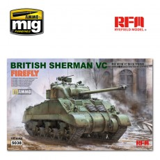 "1/35 BRITISH SHERMAN VC ""VELIKIYE LUKI"" W/ WORKABLE TRACK LINKS"