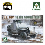 1/35 U.S. Army 1/4 ton armored truck