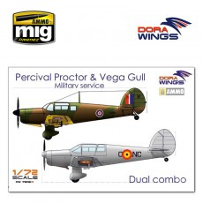 Percival Proctor& Vega Gull (2 in 1)
