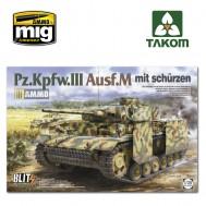 1/35 Pz.Kpfw.III Ausf.M mit schürzen