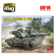 1/35 BRITISH MAIN BATTLE TANK CHALLENGER 2 TES