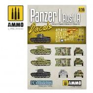 PANZER I AUSF. A. DECALS 1/16