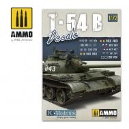 T-54B. DECALS 1/72