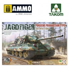 1/35 JAGDTIGER PORSCHE PRODUCTION TYPE Sd.Kfz.186