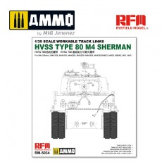1/35 Hvss t80-track for M4 Sherman