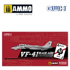 "1/72 US Navy F-14A VF-41 ""Black Aces"" /w special PE & Decal"