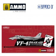 """1/72 US Navy F-14A VF-41 """"Black Aces"""" /w special PE & Decal"""